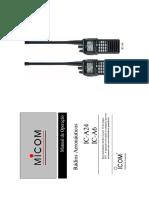 Manual IC-A24 - Português