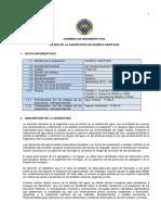 Sílabo - Química Sanitaria -2013 - 2014 - Ing. Guzman