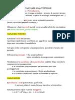 Come tradurre una versione in latino