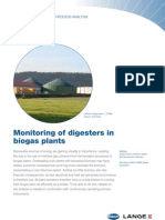 BIOGAS PLANTS MONITORING