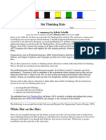 Six Thinking Hats Technique)
