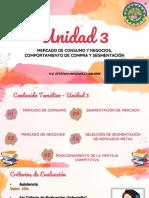 UNIDAD 3. MERCADO DE CONSUMO Y NEGOCIOS, COMPORTAMIENTO DE COMPRA Y SEGMENTACIÓN - MERCADOTECNIA
