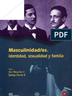 Masculinidad-Es Identidad Sexual y Familia -
