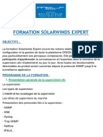 syllabus de formation solarwinds expert  complet Organisée par IPL FORMATION Filiale de MTS GROUP