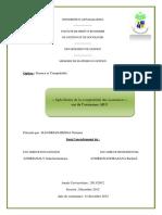 Spécificités de la comptabilité des assurances » cas de l'assurance ARO