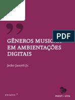 Gêneros Musicais em Ambientações Digitais