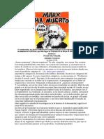 K Marx por Gramsci a 100 años natalicio