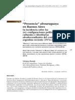 Presencia afrouruguaya bsas