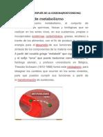 Metabolismo despúes de la cosecha. IND. I FRUTAS Y HORTALIZAS- 06 NOVIEMBRE 2020