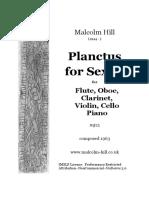 Planctus for Sextet, Mj13 (Hill, Malcolm).PdfSCORE