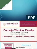 Cuarta Sesión Ordinaria de CTE_20-21 BY EDWINKILLER10X
