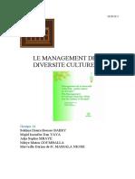 management de la diversité 1