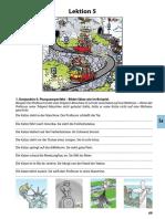 Deutsch mit Comics fr die Schule 2 Arbeitsbuch Munkafzet Lektion5Mintalecke
