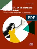 PASOS ATRÁS EN EL COMBATE A LA IMPUNIDAD