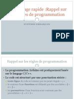 Chapitre 4 -Rappel-des-regles-de-programmation