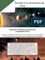 1. O formato e os movimentos da Terra
