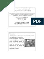 Aula_03_Fatores gerais para seleção de materiais