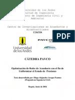 13-Optimización de Redes de Acueducto con el fin de Uniformizar el Estado de Presiones