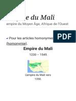 Empire du Mali
