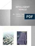 Intelligent Vehicle Ppt