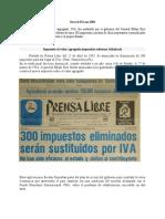 historia del IVA