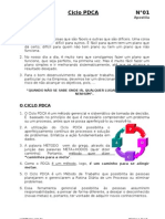 Apostila - Ciclo PDCA Planeja