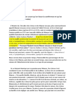 Dissertation Manon Lescaut