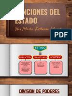 Funciones Del Estado Pdff