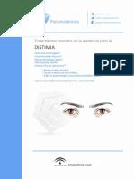 Tratamientos basados en la evidencia - Distimia