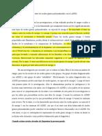 La relación entre los ácidos grasos poliinsaturados con los síntomas de ADHD