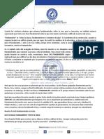 PRIMERA CLASE DE DISCIPULADO