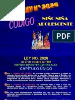 CODIGO NIÑO (A)