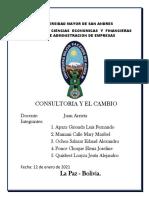 GRUPO BRAVOS ADM-CONSULTORIA Y EL CAMBIO
