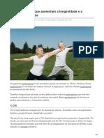 20 Suplementos Que Aumentam a Longevidade e a Expectativa de Vida