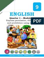 English 9 Quarter 1 Module 1.pdf