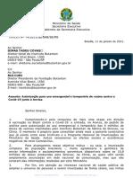Ofício - Élcio Franco - Instituto Butantan