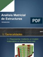 Introduccion al Analisis Matricial
