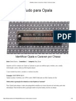 Identificar Opala e Caravan por Chassi