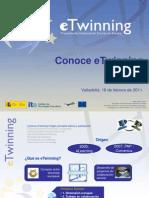 Conoce eTwinning_Valladolid 2011