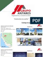 Catálogo de viviendas