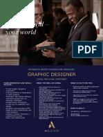Flash Opportunity Graphics Designer