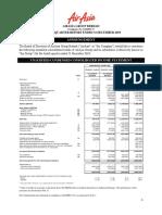 AIRASIA FINANCIAL STATEMENT