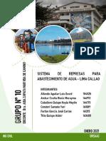 SISTEMA DE REPRESAS PARA EL ABASTECIMIENTO DE AGUA DE LIMA Y CALLAO