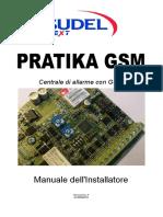 PRATIKA GSM Manuale Installatore