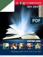 E100 Pittsburgh Initiative Strategic Plan 2011-2013