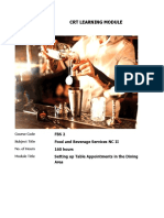 Learning Module 4- FBS