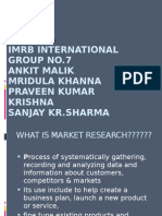 Market Research ppt