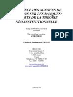 influence des agences de notation sur les banques.pdf