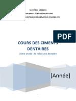 7- Les ciments dentaire.pdf