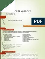 Cours de transport routier
